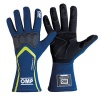 OMP Technica-S Race Gloves Royal Blue/Fluo Yellow