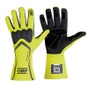 OMP Technica-S Race Gloves Fluo Yellow/Black