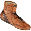 OMP Carrera Race Boots Light Tan (SIZE: EU 45 UK 10.5)