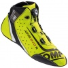 OMP One Evo Formula R Shoes Fluro Yellow Size 44 EUR/9.5 UK