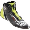 OMP One Evo Formula R Shoes Black/Silver Fluro Yellow