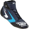 OMP One-S Race Boots Dark Blue/Cyan