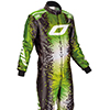 OMP KS Art Suit Black/Green/Yellow