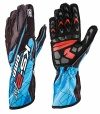 OMP  KS-2 ART Gloves Black/Cyan