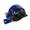 Motamec Alloy Single Fuel Pump Mount Cradle 60mm Injection Pump / Filter Mounting Blue
