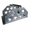 Motamec Std Size Alloy Car Battery Tray Aluminium Box Holder Titanium Anodized