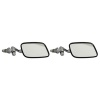 Motamec Classic Car 07 Side Door Wing Mirror x2 Chrome Steel Square For VW Style
