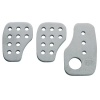 OMP Smooth Aluminium Pedal Set