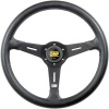 OMP Sand Steering Wheel Black PU
