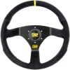 OMP 320 Carbon S Steering Wheel Black Suede