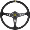 OMP Corsica OV Superleggero Steering Wheel Black Suede