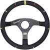 OMP Recce Superleggero Steering Wheel Black Suede