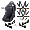 Clubman FIA Seat & 6 Point Harness Package