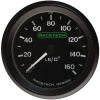Racetech Mechanical Oil Pressure Gauge 0-160 PSI 1/8 BSP Flat Concave Pressure Fitting - Illuminated