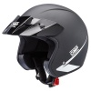 OMP Star Open Face Helmet Matte Black