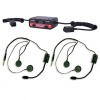 Terraphone Professional Intercom Kit - 2 Open Face Headsets
