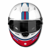 Sparco RF-5W Martini Racing  (Stripes Design)