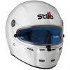 Stilo ST5FN White Composite Helmet SA2015 (Blue Interior)