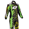OMP One Art Suit Black/Fluo Yellow/Fluo Green
