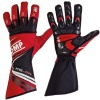 OMP KS-2R Kart Gloves Red/Black