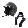 Turn One Jet RS Peltor Intercom Helmet & Stand 21 Club FHR Package