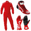 OMP Sport Clubman Red Racewear Package