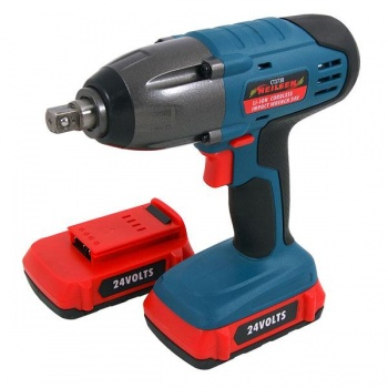 Neilsen Li-ion Cordless Impact Wrench 24v