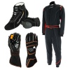 Turn One Black Racewear Package